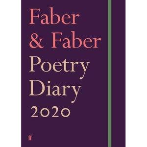 Faber And Faber Poetry Diary 2020