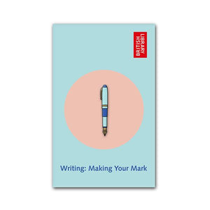 Make Your Mark Fountain Pen Enamel Pin