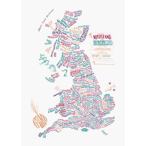 From Neverland to Wonderland: A Map of Children's Literature in Britain