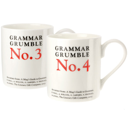 Grammar Grumble Mugs Set