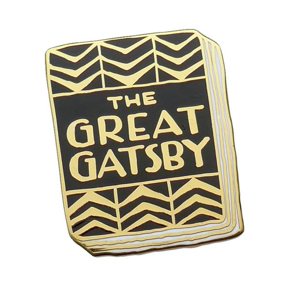 The Great Gatsby Enamel Pin