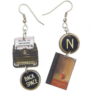 The Handmaids Tale Typewriter Earrings