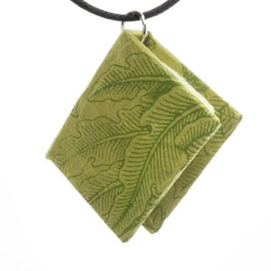 Bookbound Necklace - Green