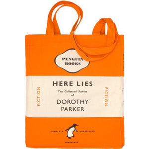 Here Lies- The Collected Stories Of Dorothy Parker Tote Bag