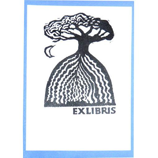 Hill and Tree Bookplates