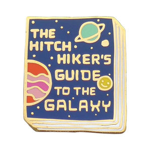 The Hitchhiker's Guide To the Galaxy Enamel Pin