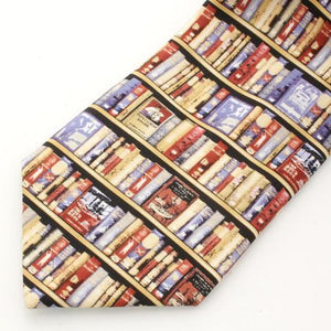 Bodleian Hobbies Bookshelf Tie