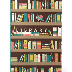 Home Library Book Box Jigsaw Puzzle