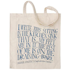 I Capture the Castle - Dodie Smith - Canvas Tote