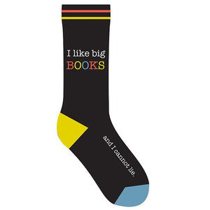 I Like Big Books Socks