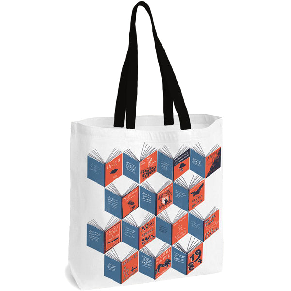Isometric Books Tote Bag