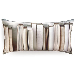 Large Ivory Bookcase Cushion