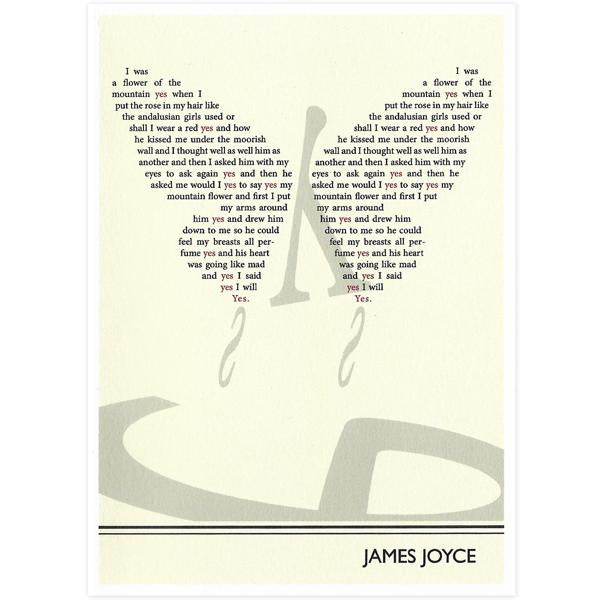 James Joyce Card