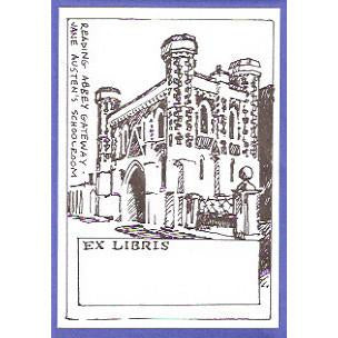 Jane Austen's Schoolroom Bookplates