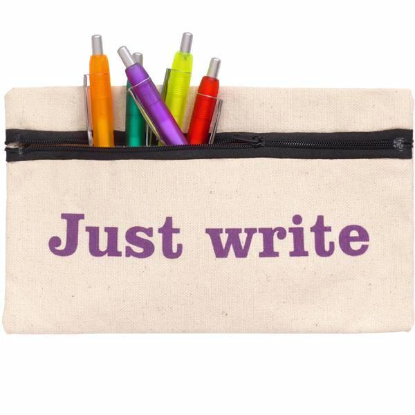 Just Write Pencil Case