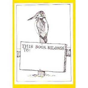 Kingfisher Bookplates