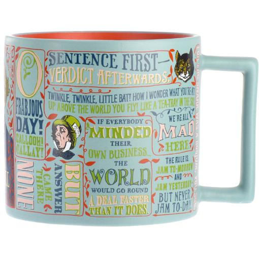 Lewis Carroll Alice in Wonderland Quotation Mug