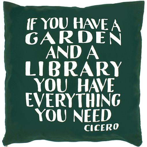 Cicero Library Cushion Cover