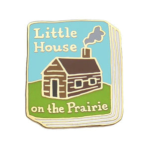 Little House On The Prairie Enamel Pin