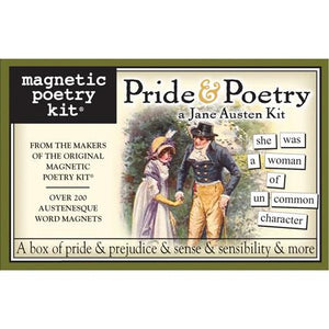 Magnetic Poetry - Austen's Pride and Poetry Edition