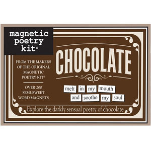 Magnetic Poetry - Chocolate Edition