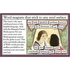 Magnetic Poetry - Shakespeare Edition