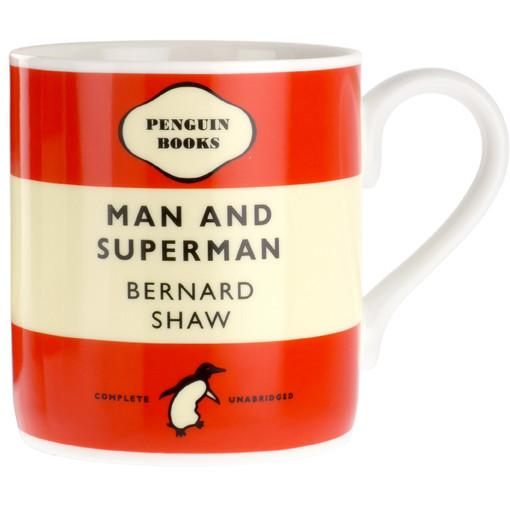 Man and Superman - Penguin Mug