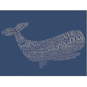 Moby Dick Quote Card