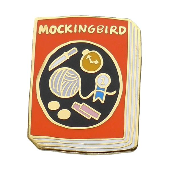 To Kill A Mockingbird Enamel Pin