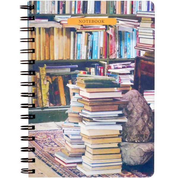 'At Home With Books' Notebook