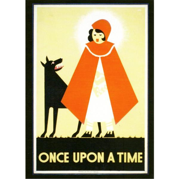 Once Upon A Time Greetings Card
