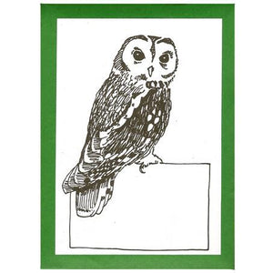Owl Bookplates