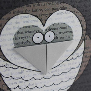 Owl Card and Bookmark