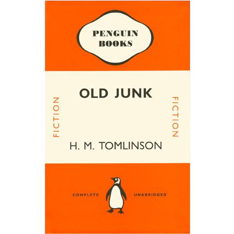 Penguin Notebook - Old Junk