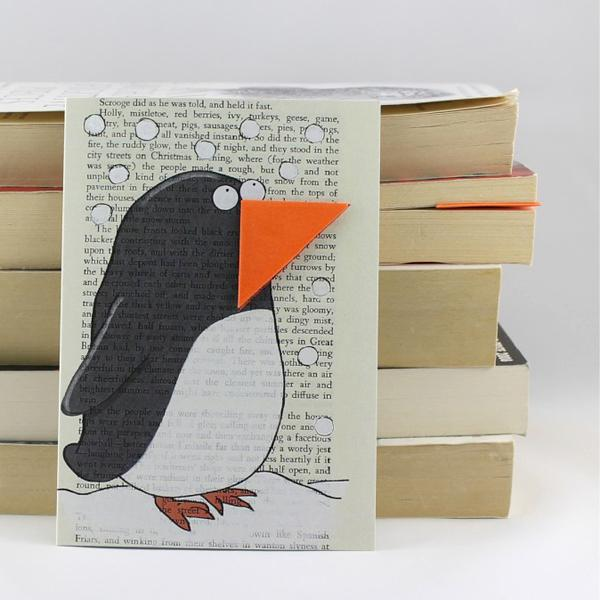 Penguin Card and Bookmark