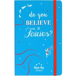Peter Pan Notebook- Do You Believe In Fairies