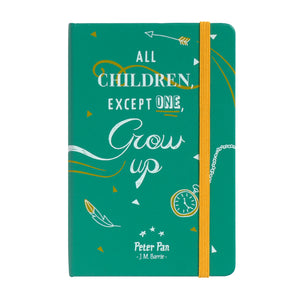 Peter Pan Notebook-All Children, Except One, Grow Up