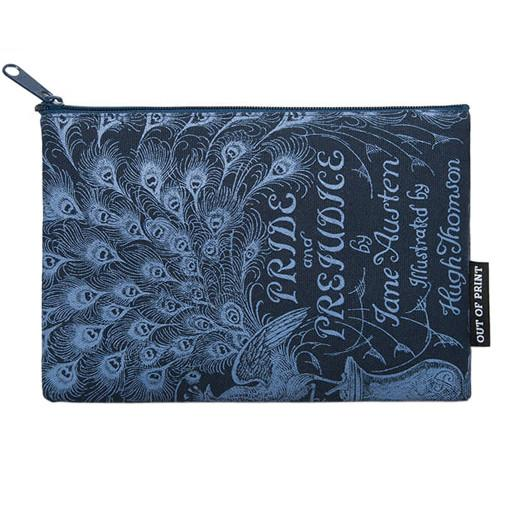 Zipped Pouch - Pride and Prejudice