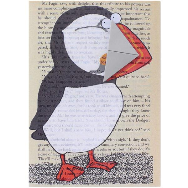 Puffin Card and Bookmark