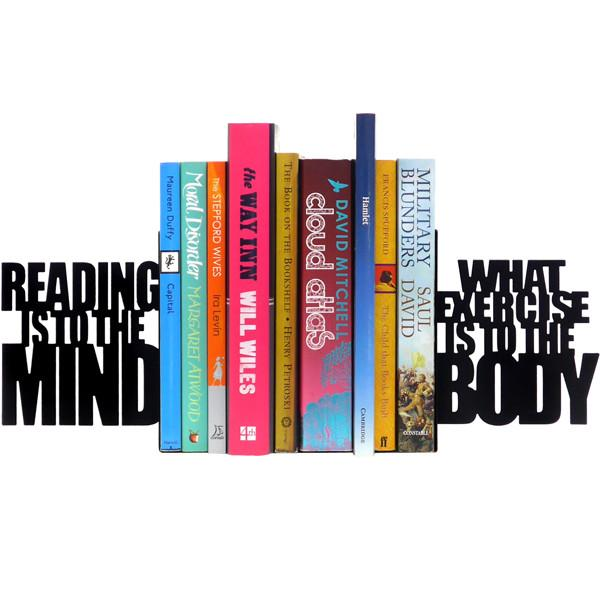 Exercise The Mind Bookends