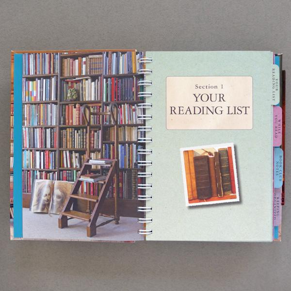 'At Home With Books' Reading Journal
