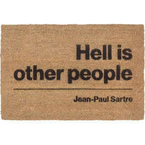 Jean-Paul Sartre Doormat