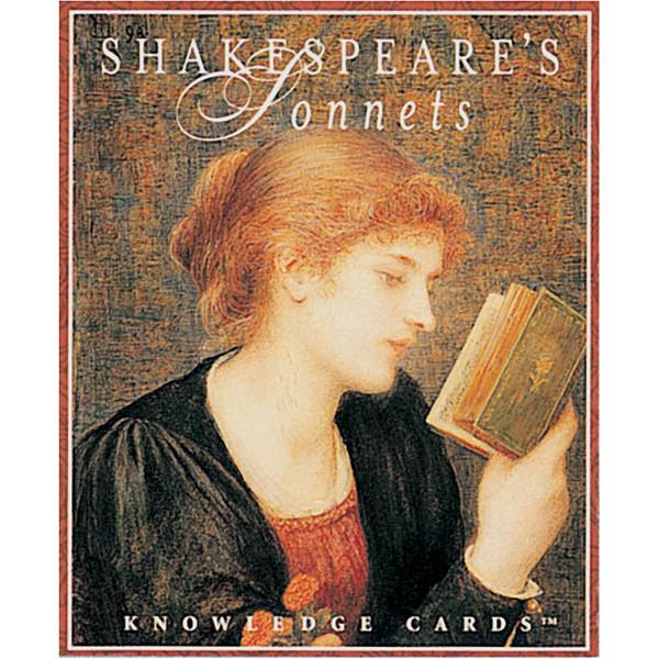 Shakespeare's Sonnets Knowledge Cards