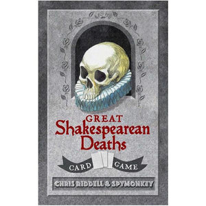 Great Shakespeare Deaths Card Games