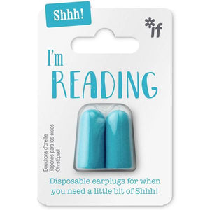 Shhh! I'm Reading Earplugs