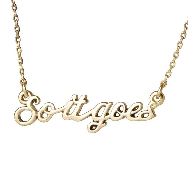 So It Goes Necklace - Slaughterhouse Five