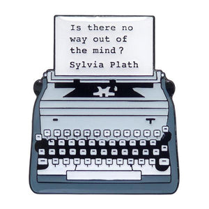 Sylvia Plath Enamel Pin