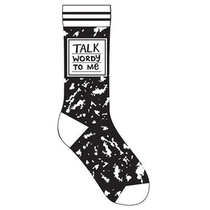 Talk Wordy To Me Socks