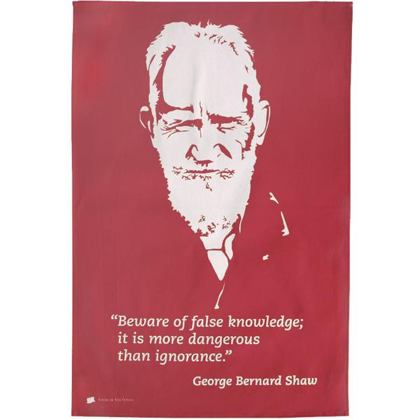 George Bernard Shaw Tea Towel