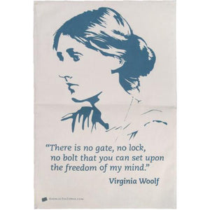 Virginia Woolf Dish Towel